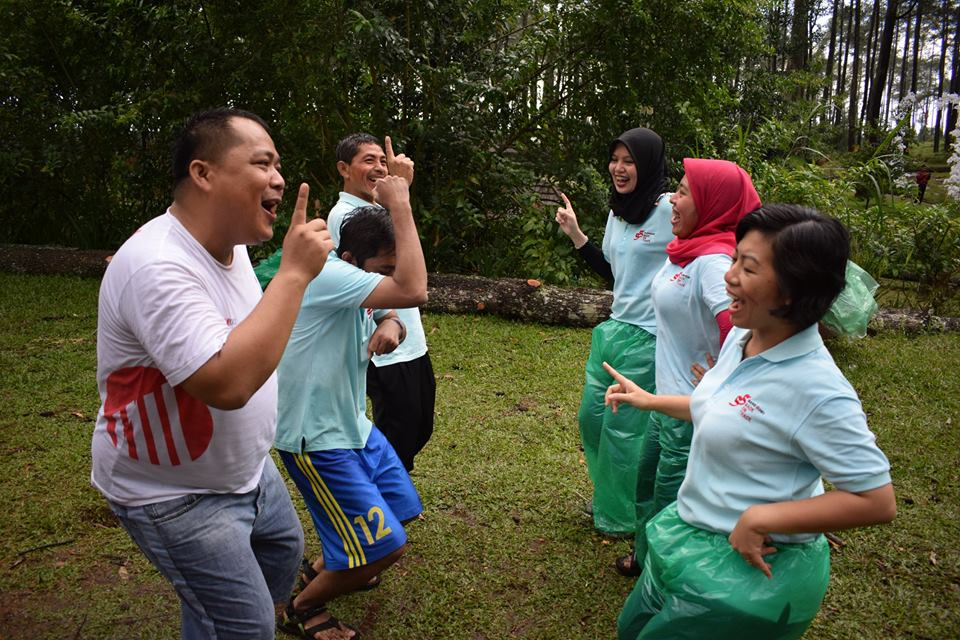 Paket Outbound Fun Games One Day
